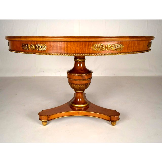 1900s french empire dining table chairish for 0co om cca 9 source table