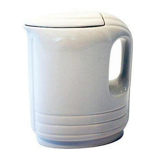 Vintage Hall 1950s White Pitcher