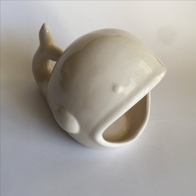 Image of Ceramic Whale Sponge Holder