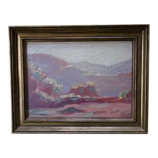 "Fred M. Sersen ""Griffith Park 1923"" Painting"