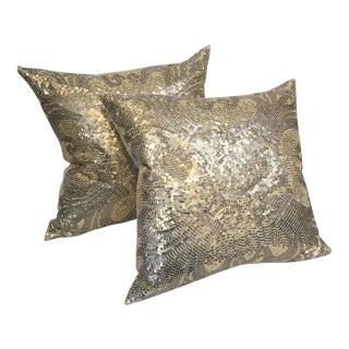 Glam Gold Pillow Pair