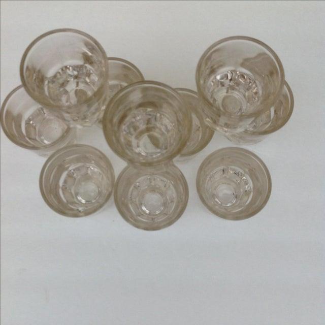 Vintage Rocks Glasses - Set of 10 - Image 3 of 11