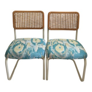 Refurbished Cesca Style Side Chairs - a Pair