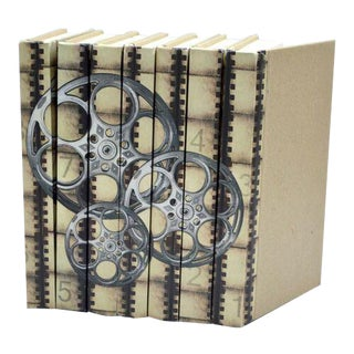 Image Collection Film Reels Silver Screen Books - Set of 7