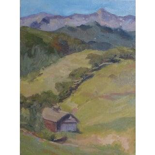 """Barn at Aldosoro"" Oil Painting"
