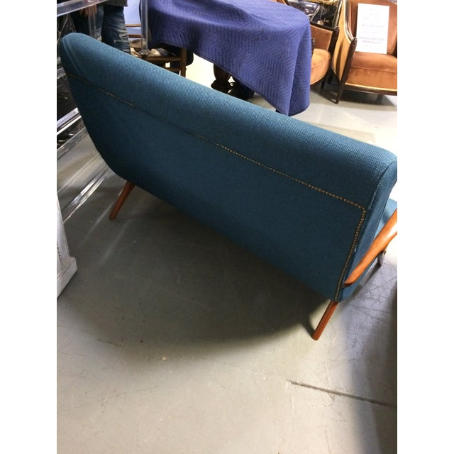 French Mid Century Modern Settee - Image 5 of 11