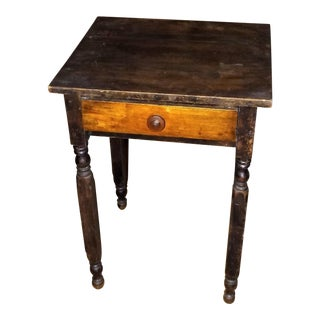19th Century One Drawer Nightstand