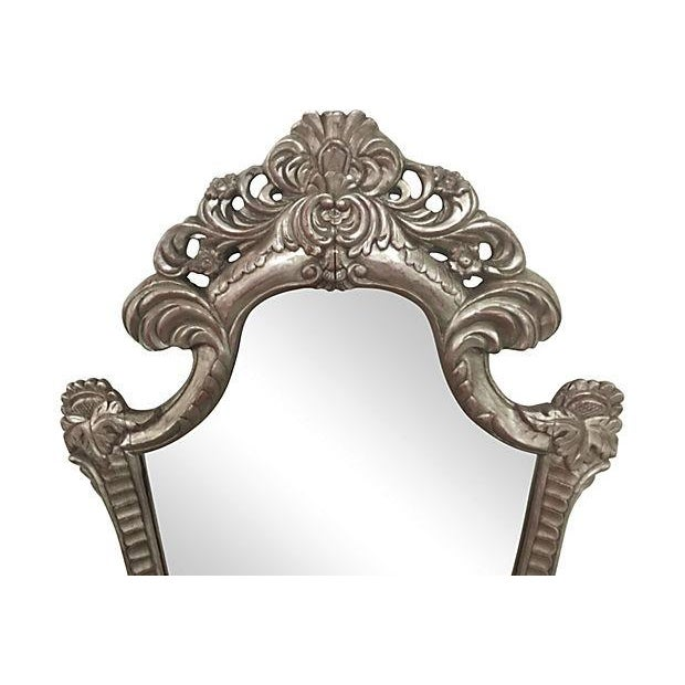Hand Carved Ornate Mirror - Image 4 of 5