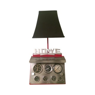 Fire Truck Pump Panel Table Light