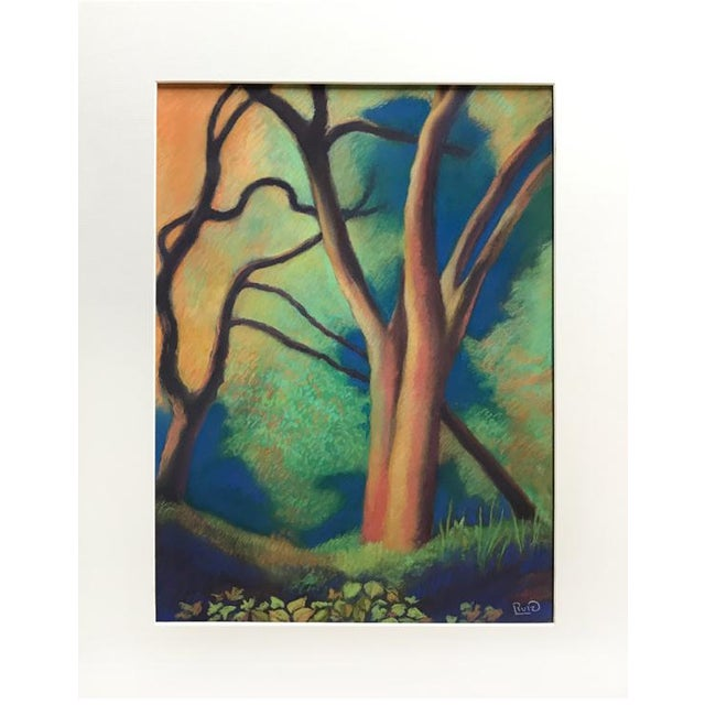Trees by Path to Enlightenment Painting - Image 3 of 3
