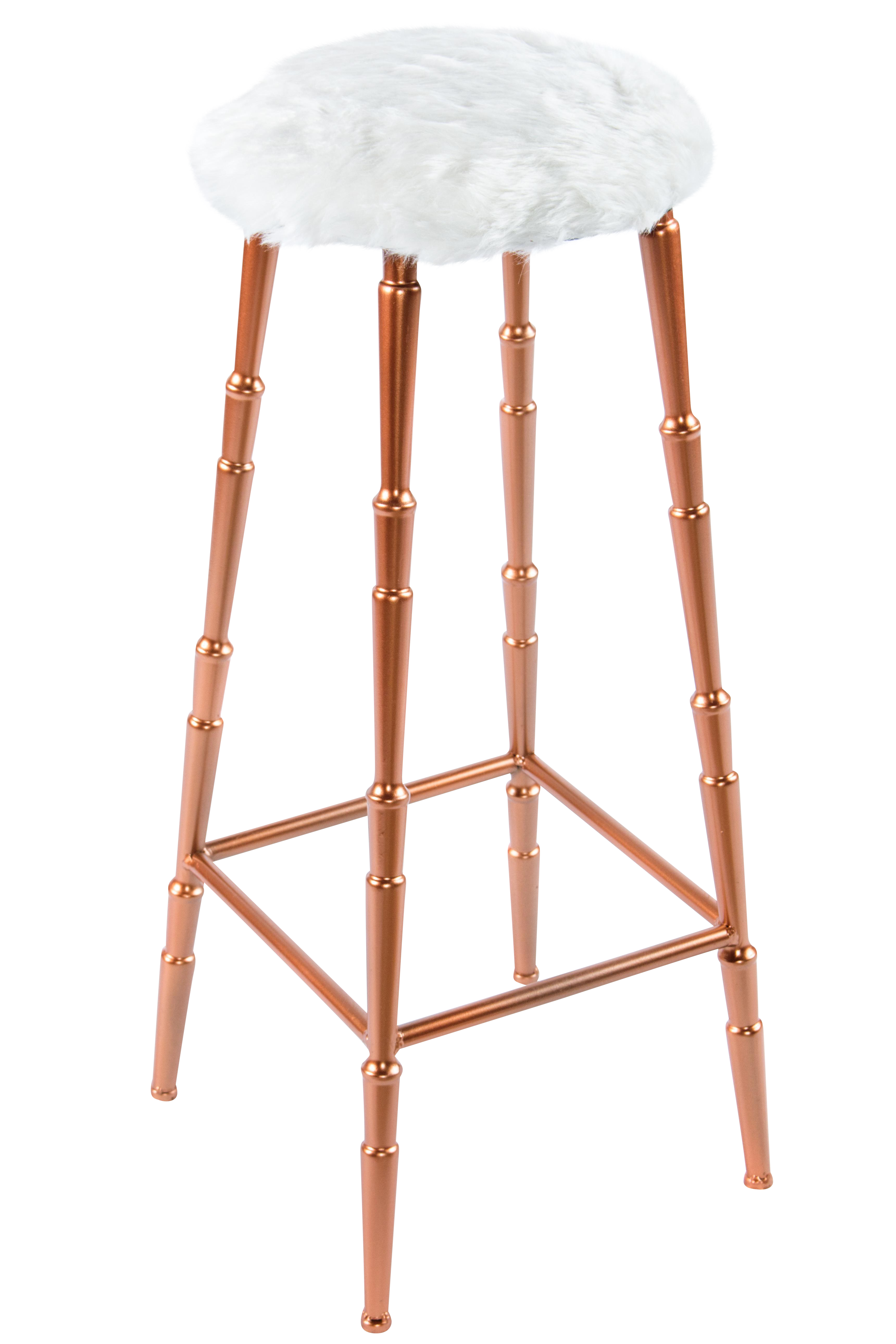 Gigi Bar Stool with White Fur Seat  sc 1 st  Chairish & Vintage u0026 Used Bar Stools | Chairish islam-shia.org