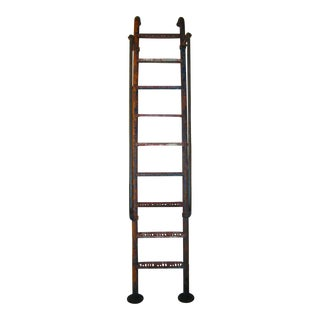 Vintage 9' Steel American Playground Ladder