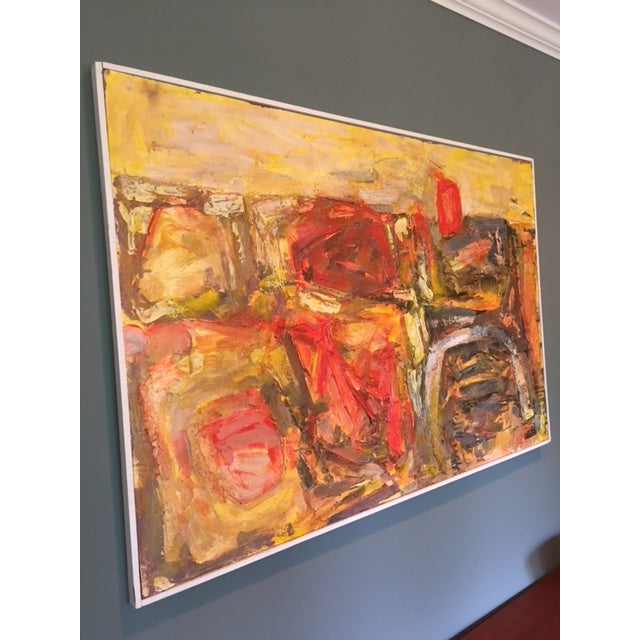 Walter Hook Mid-Century Abstract Painting - Image 4 of 7