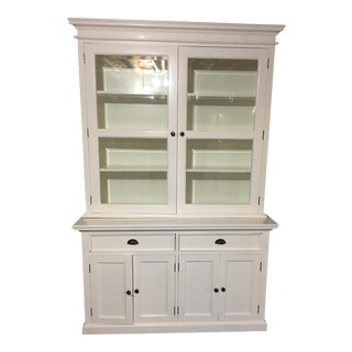 NovaSolo White Halifax China Cabinet