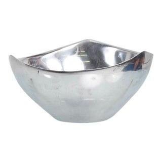 Mid-Century Modern Aluminium Nambe Bowl