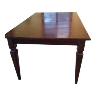 Ethan Allen Cherry Dining Room Table