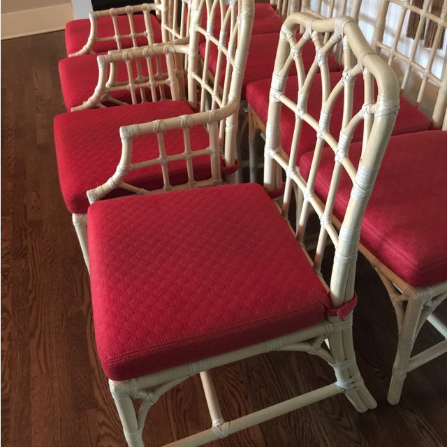 McGuire Set of Chairs - Set of 8 - Image 6 of 9