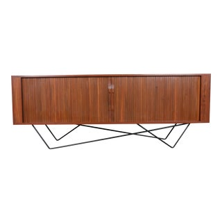 Custom Made Base Tambour Door Credenza