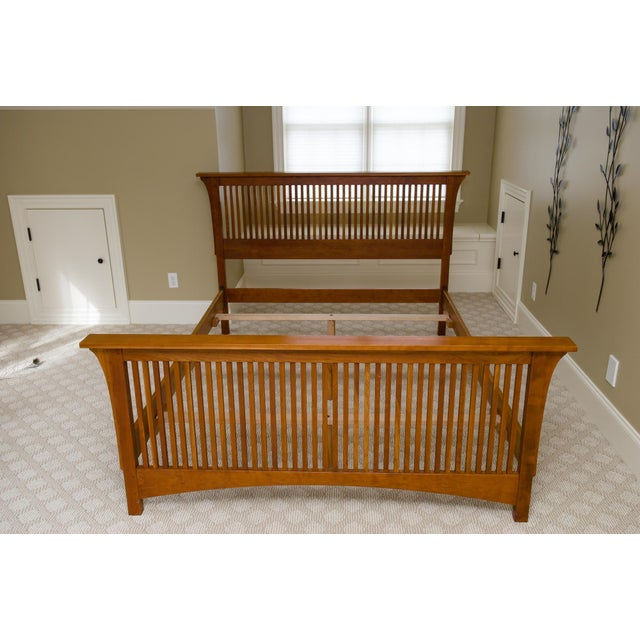 Image of Queen-Size Stickley Spindle Bed