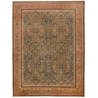 Exceptional 19th Century Persian Tabriz Carpet