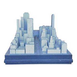 Scale Model of Mid-Town East Manhattan