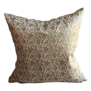 "18x18"" Gold Velvet Pillow"