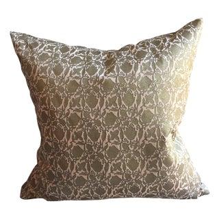 """18x18"""" Gold Velvet Pillow"""