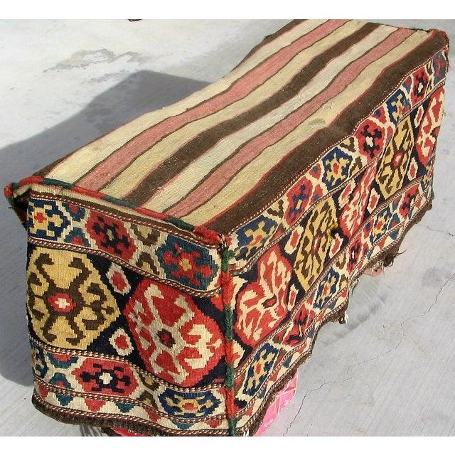 Antique Caucasian Mafrash Rug Bag - Image 2 of 5