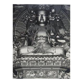 Circa 1970s Statue of Buddha Photograph