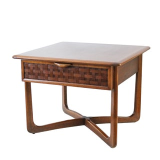 Mid-Century Lane Perception X-Base End Table