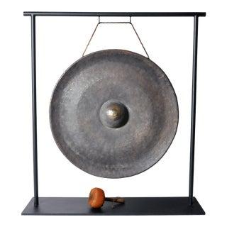 Unadorned Bronze Gong