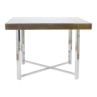 Brass and Chrome Games Table