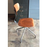 Image of Vintage French Industrial Factory Stools - 4