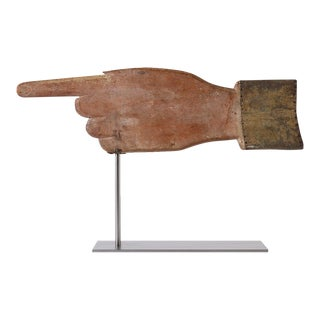 Pointing Hand Weathervane