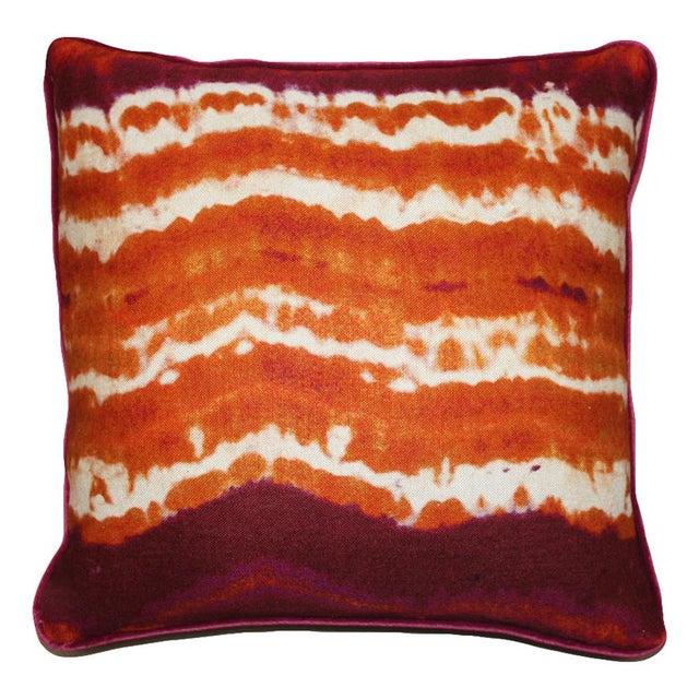 Kim Salmela Modern Orange Pillow Chairish