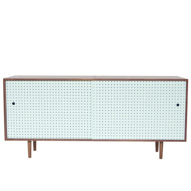 Image of Hand Crafted Walnut Credenza