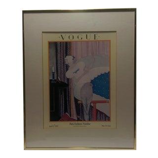 April 1925 Vogue Magazine Cover Framed Print
