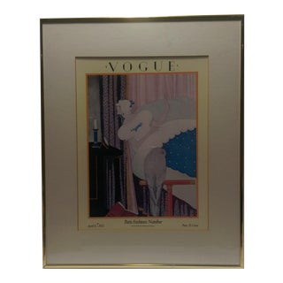 April 1925 Vogue Magazine Cover Framed Print