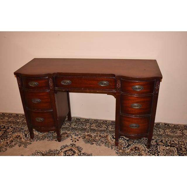 Dixie Furniture Antique Mahogany Desk Chairish