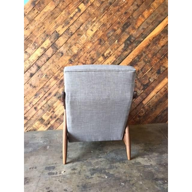Custom Danish Mid-Century Style Lounge Chair - Image 4 of 5