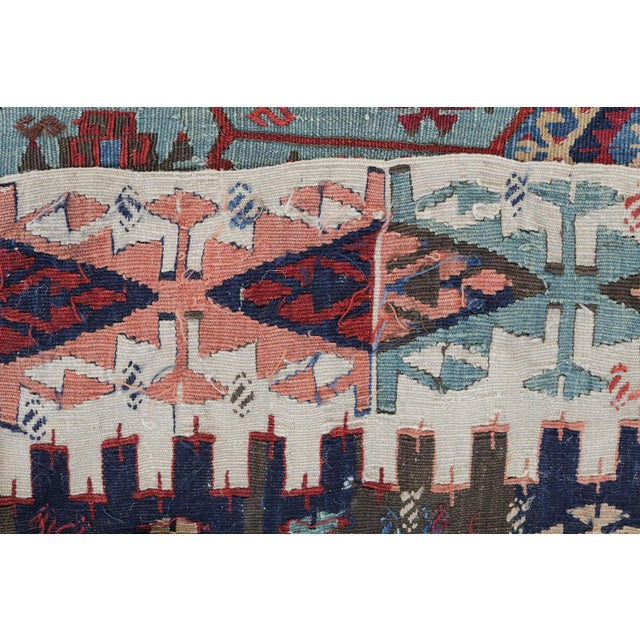 "Image of Antique Turkish Kilim - 5'4"" x 12'6"""