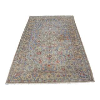 Antique Turkish Oushak Carpet - 4′5″ × 7′1″