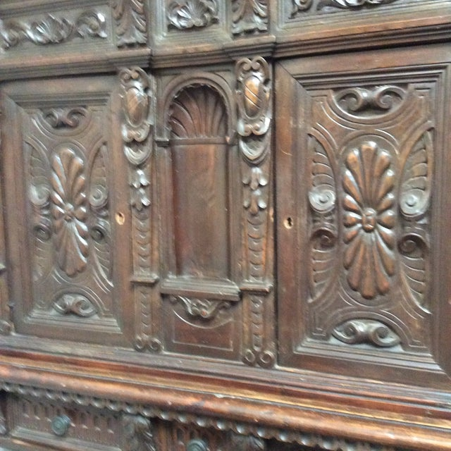 Mediterranean Style Antique Elements Cabinet - Image 5 of 11