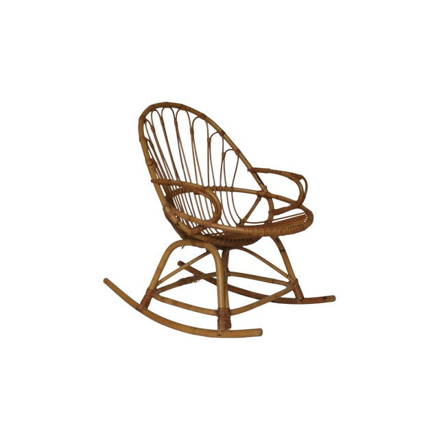 Child's Rattan Rocking Chair - Image 1 of 4