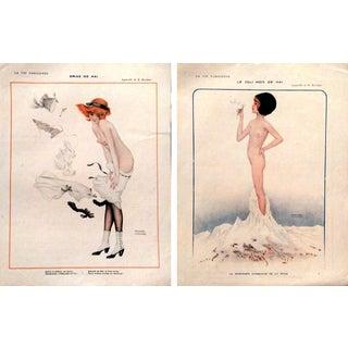 1913 La Vie Parisienne Kirchner Prints - A Pair