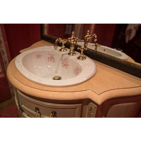 French country bathroom sink vanity chairish for French country sink