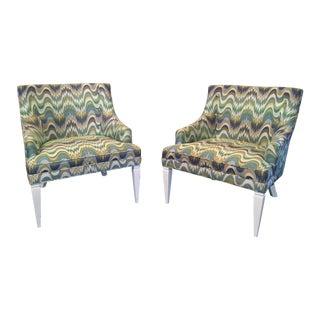 Jonathan Adler Haines Chairs - A Pair