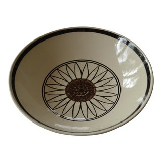 Mid-Century Daisy Serving Bowl