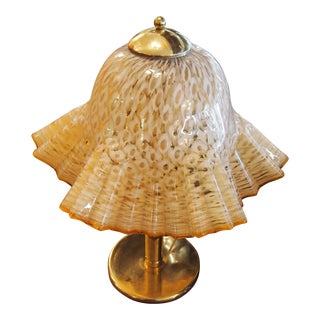 Murano Glass Handkerchief Lamp