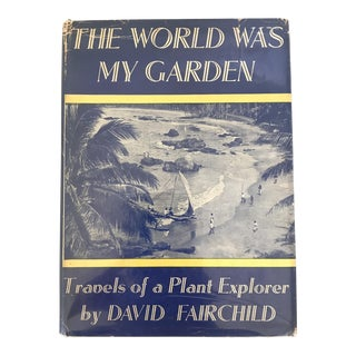 """The World Was My Garden"" Hardcover Book"